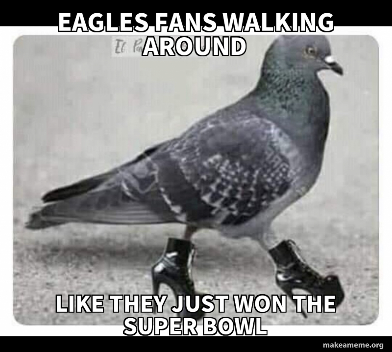 Eagles Fans Walking Around Like They Just Won The Super Bowl