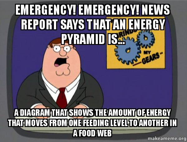 Emergency Emergency News Report Says That An Energy Pyramid Is