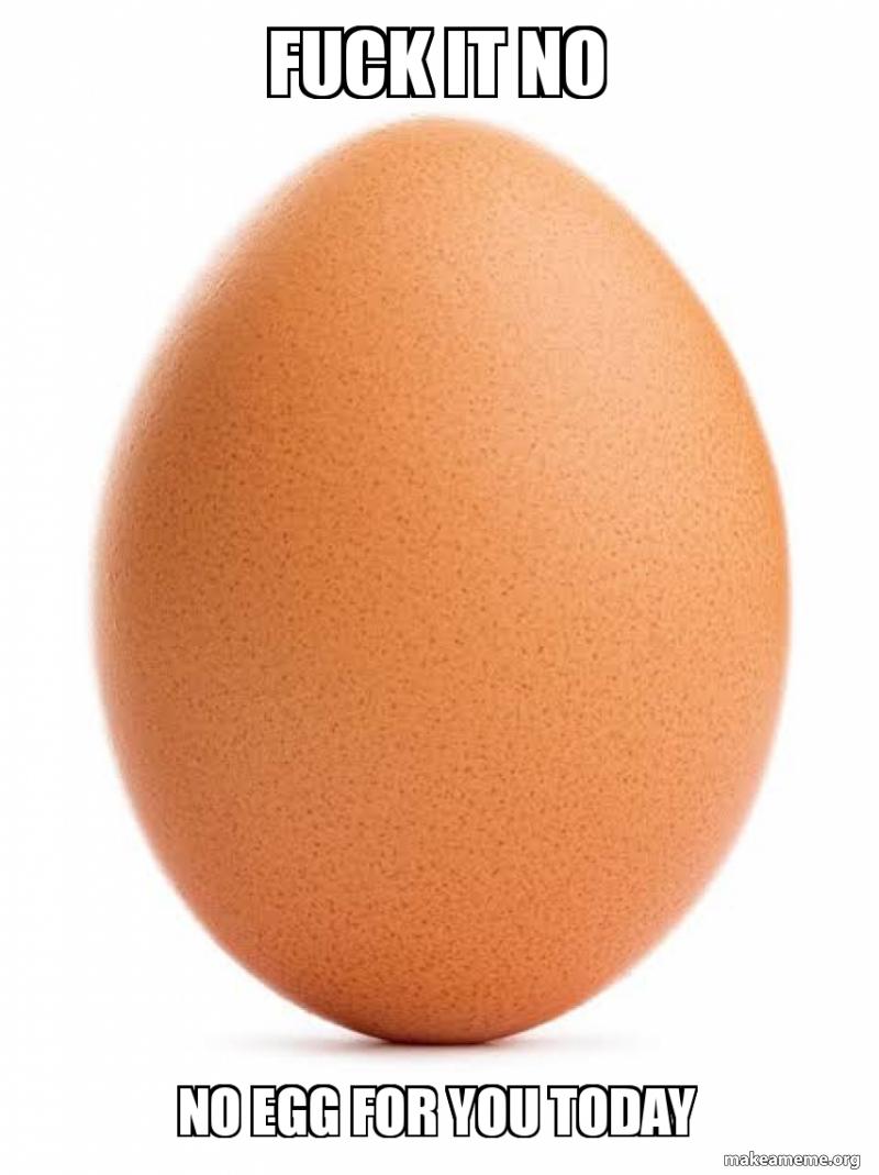 World Record Egg Meme Instagram Egg Sticker Teepublic