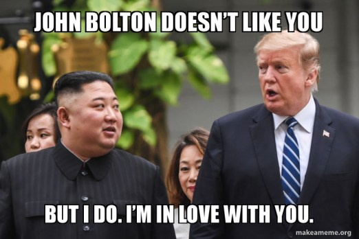 JoHn Bolton dOesn't Like you But i do. I'm in love with you ...