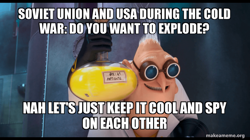 Soviet Union And Usa During The Cold War Do You Want To Explode