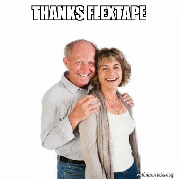 Thanks Flextape Scumbag Baby Boomer Make A Meme