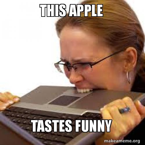 How To Use An Iphone Funny Apple Memes Apple Memes Funny