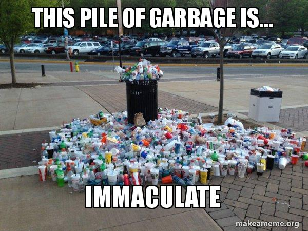 This Pile Of Garbage Is Immaculate Canadian Football Fans