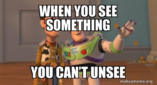 When You See Something You Can T Unsee Buzz And Woody Toy Story