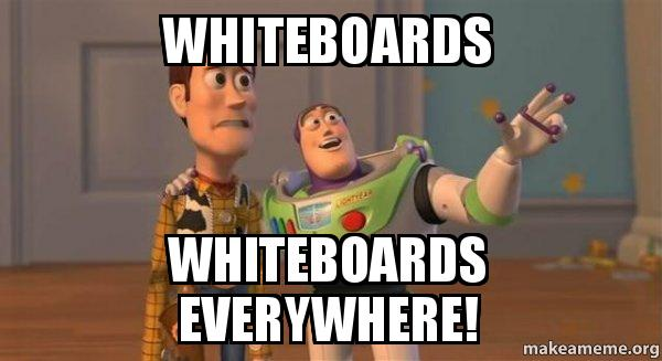 Whiteboards Whiteboards Everywhere Buzz And Woody Toy Story