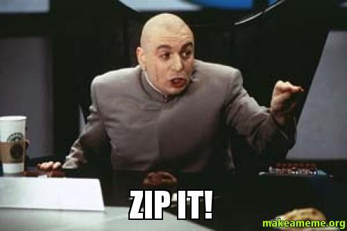 Shhh Zip It Dr Evil Shhhhh Meme Generator