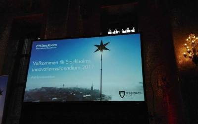 Map Project nominated to the Stockholm City Innovation Scholarship