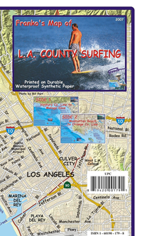 Los Angeles County Surf Map
