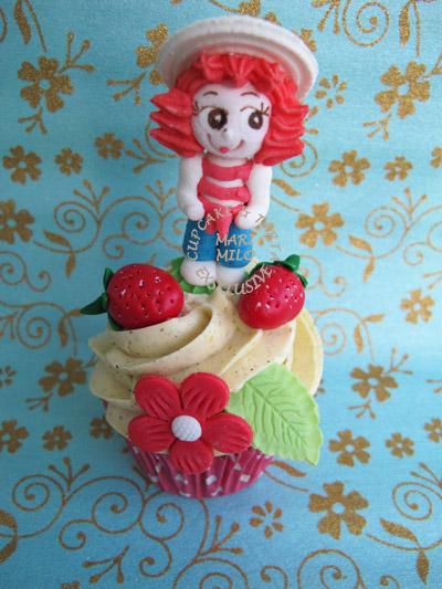 Cupcakes Jordgubbs-Lisa