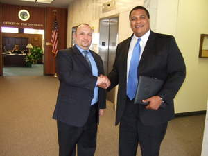 Robert Misseri of Roberts Cause with Will Polk