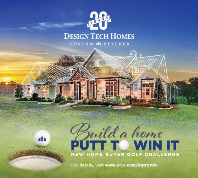 Design Tech Homes Kicks Off  Build a Home  Putt to Win It  Promotion HOUSTON