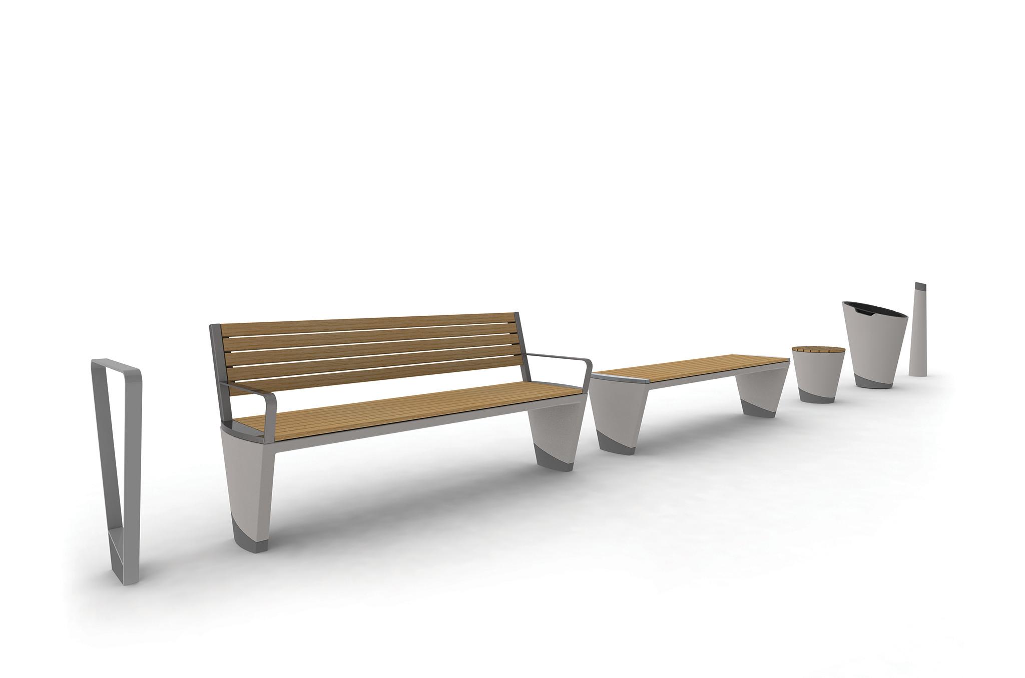 Coda Street Furniture Range Marshalls