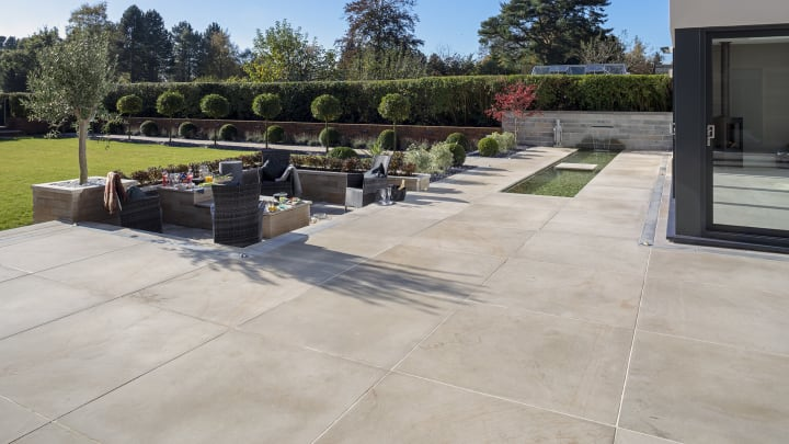 large paving slabs for patios marshalls