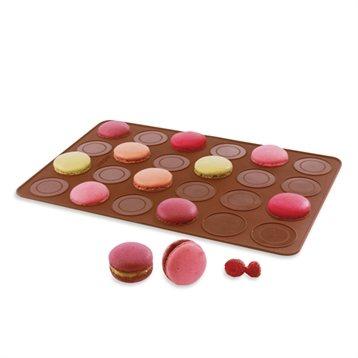 Moules en silicone : Flexi' Plaque silicone 24 macarons