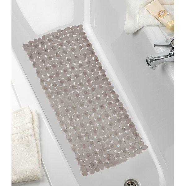 tapis de bain antiderapant paradise taupe