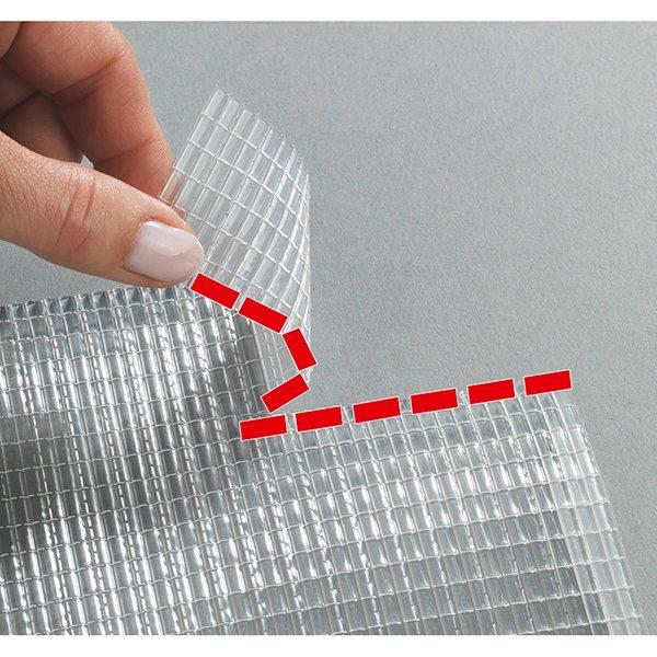 tapis fond de tiroir anti derapant predecoupe 150 x 50 cm