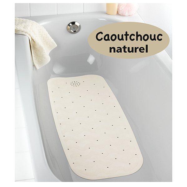tapis anti derapant baignoire en caoutchouc naturel