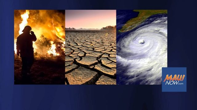 US Sen. Brian Schatz has introduced the Climate Change Financial Risk Act of 2021 that deals with potential future risk from more frequent wildfires, longer periods of drought in some regions and an increase in the number, duration and intensity of tropical storms. Photo Courtesy: NASA Climate Change
