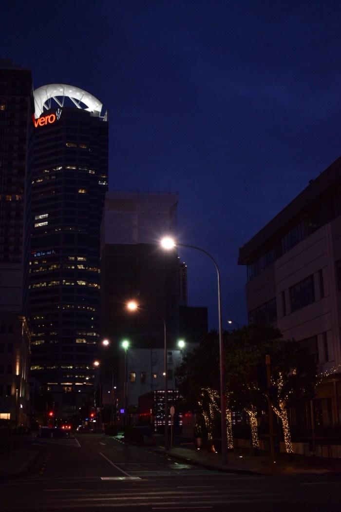 auckland på natten.
