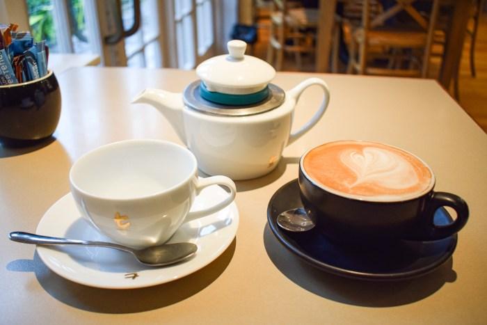 te och kaffe i auckland domain
