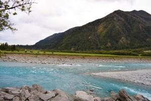 Från subtropisk regnskog till iskalla glaciärer