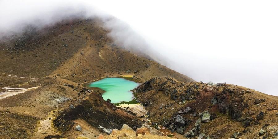 emerald pools i tongariro crossing