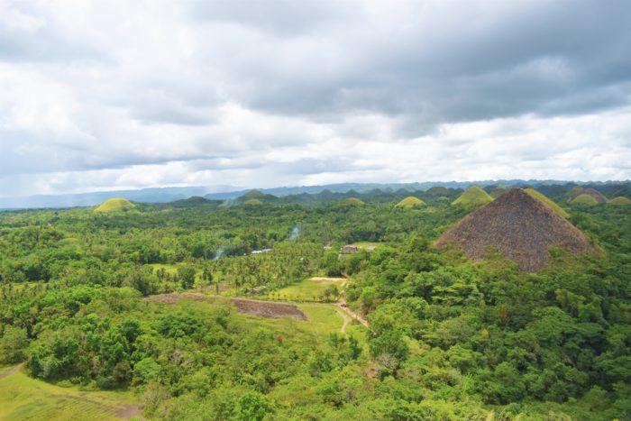 chocolate hills utsikt