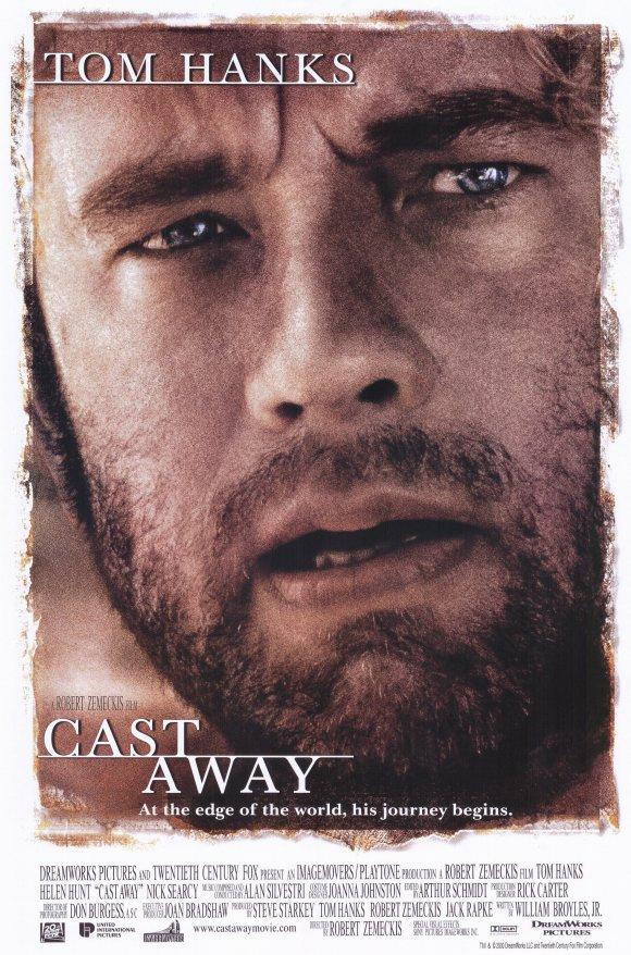 Cast Away film affisch.