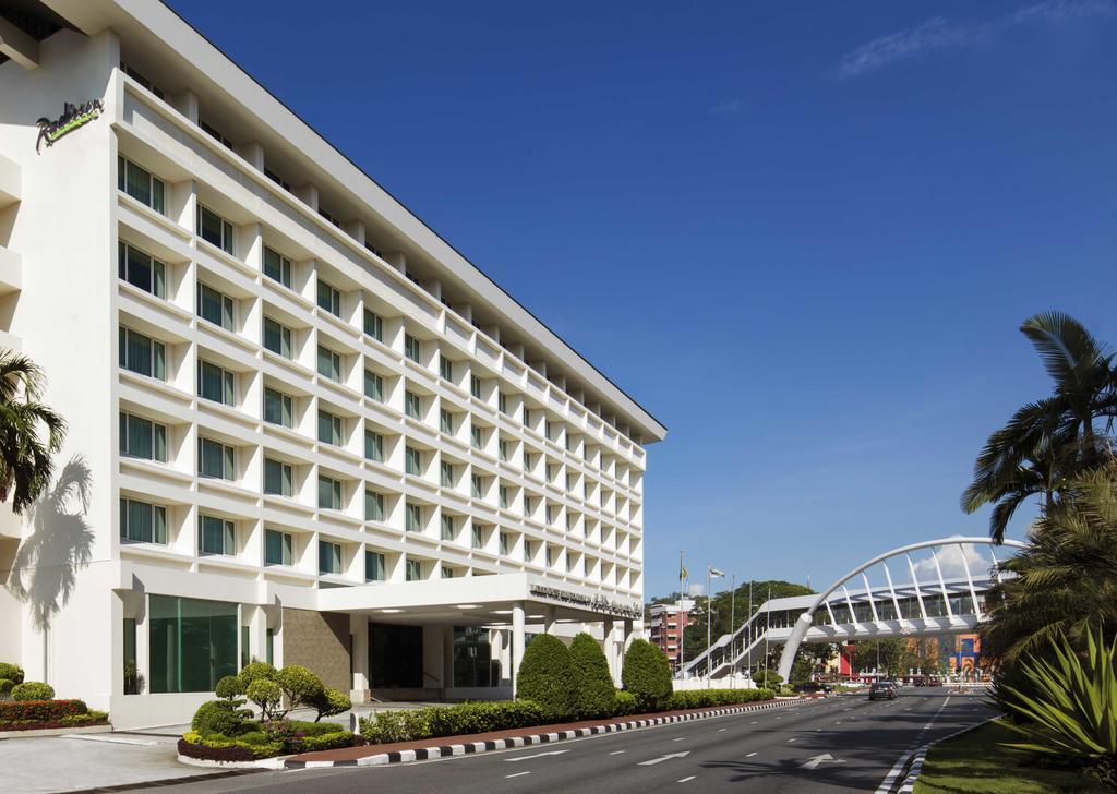 Radisson hotel i Brunei.