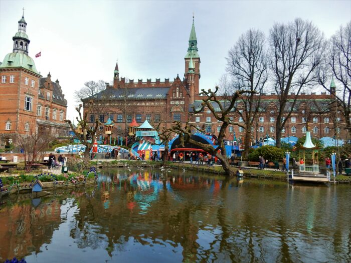 tivoli nöjespark i köpenhamn