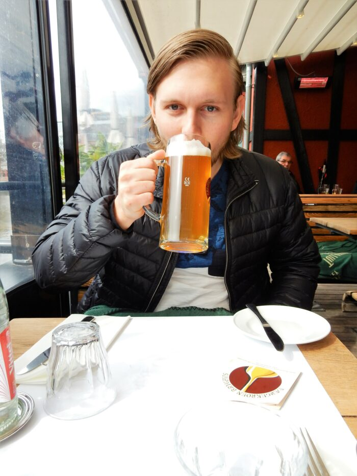 david dricker öl på tivoli