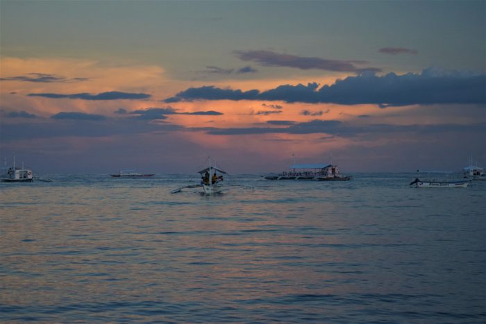 solnedgång i panglao