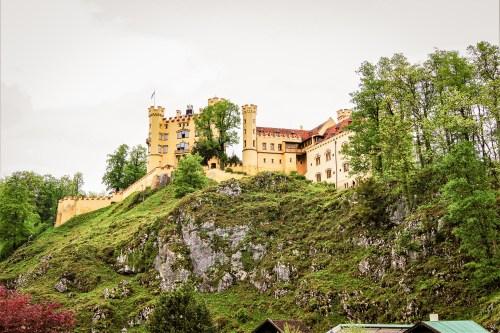 slottet Hohenschwangau i fussen