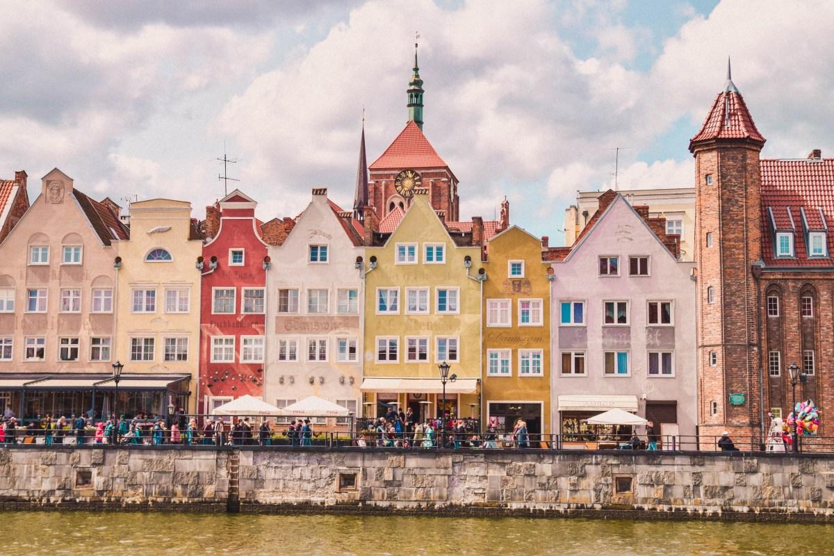 En promenad genom Gdansk