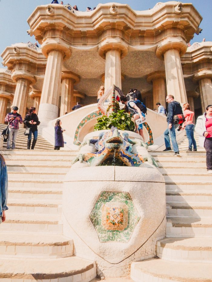 trappan i parc guell