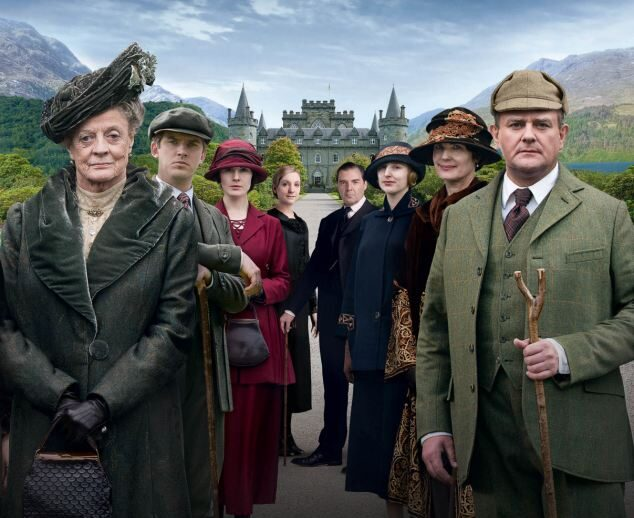 downton abbey serie.