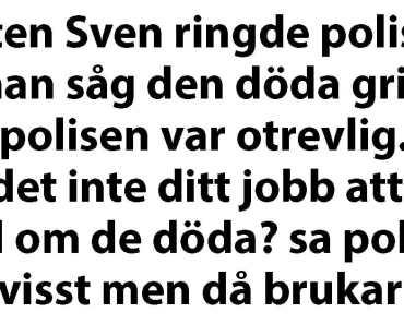 """Sven får arrogant svar när han akut ringer """"112""""…"""