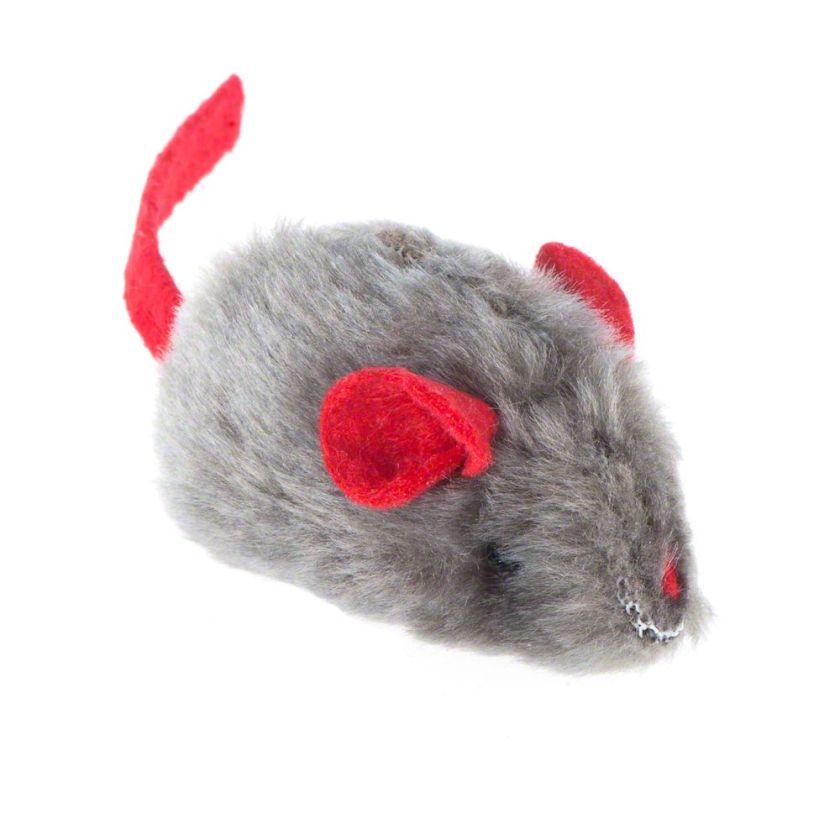 Souris sonore avec menthe à chat pour chat - 3 souris