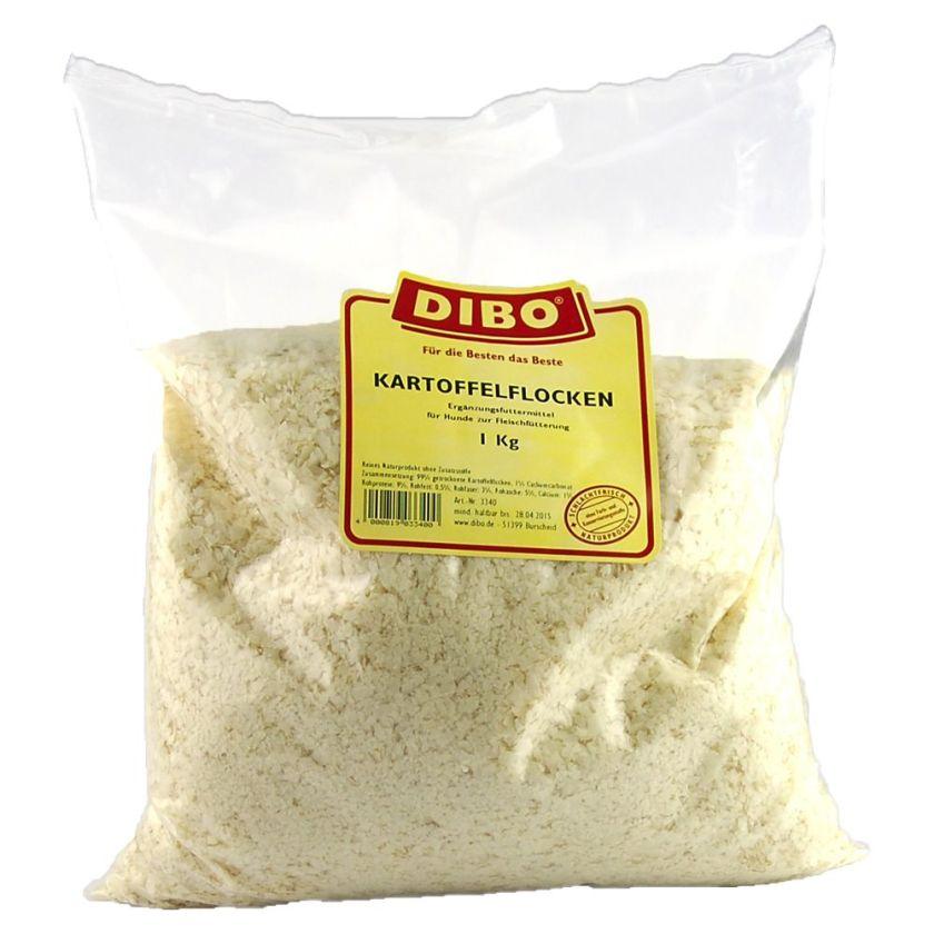 Dibo Flocons de pommes de terre pour chien - 3 x 1 kg