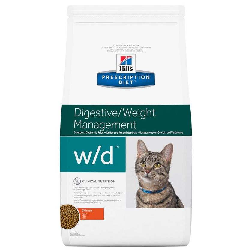 2x5kg w/d chat Hill's Prescription Diet Feline