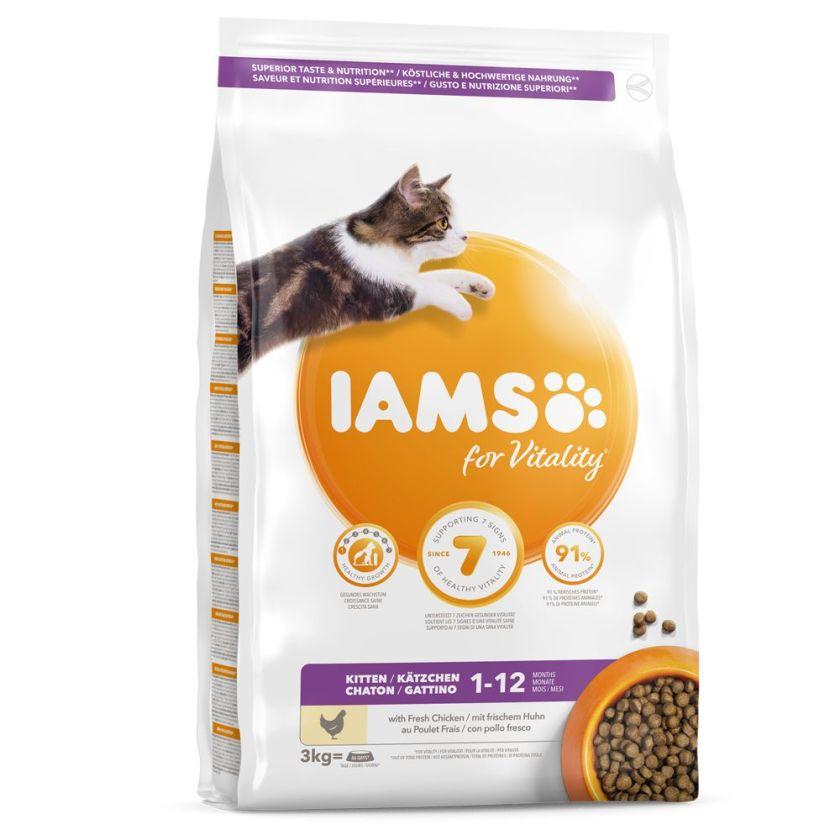 10kg Kitten & Junior IAMS Pro Active Health pour chaton
