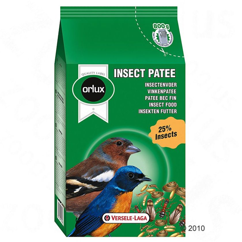 Nourriture pour oiseaux sauvages Orlux Insect - 800 g