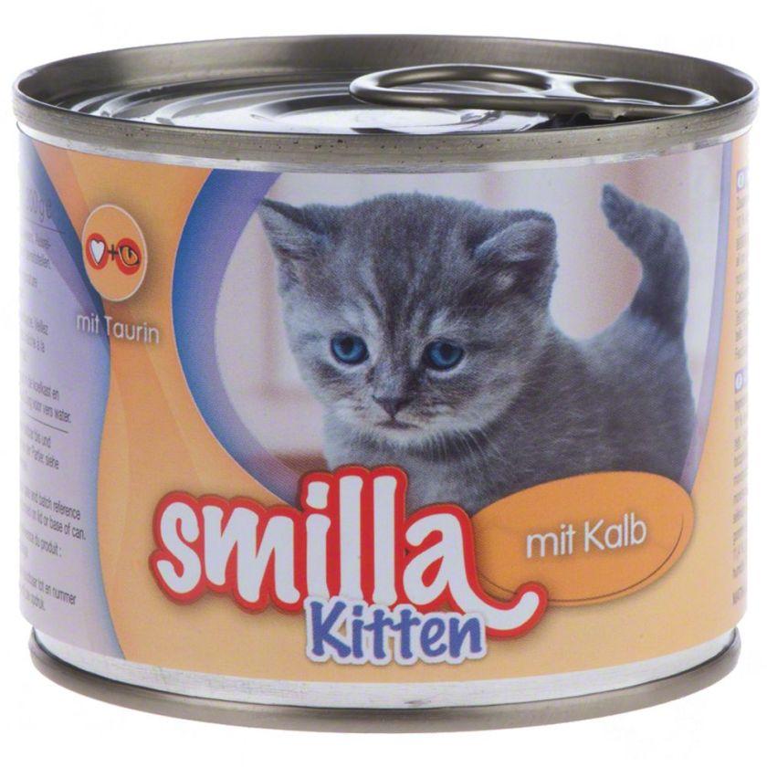 6x200g Smilla Kitten Lot pour chaton - Nourriture pour chaton