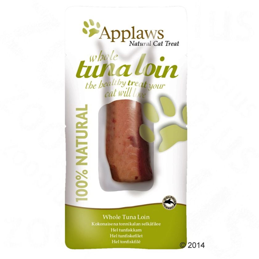 Friandise Applaws Cat Tuna Loin pour chat - 30 g