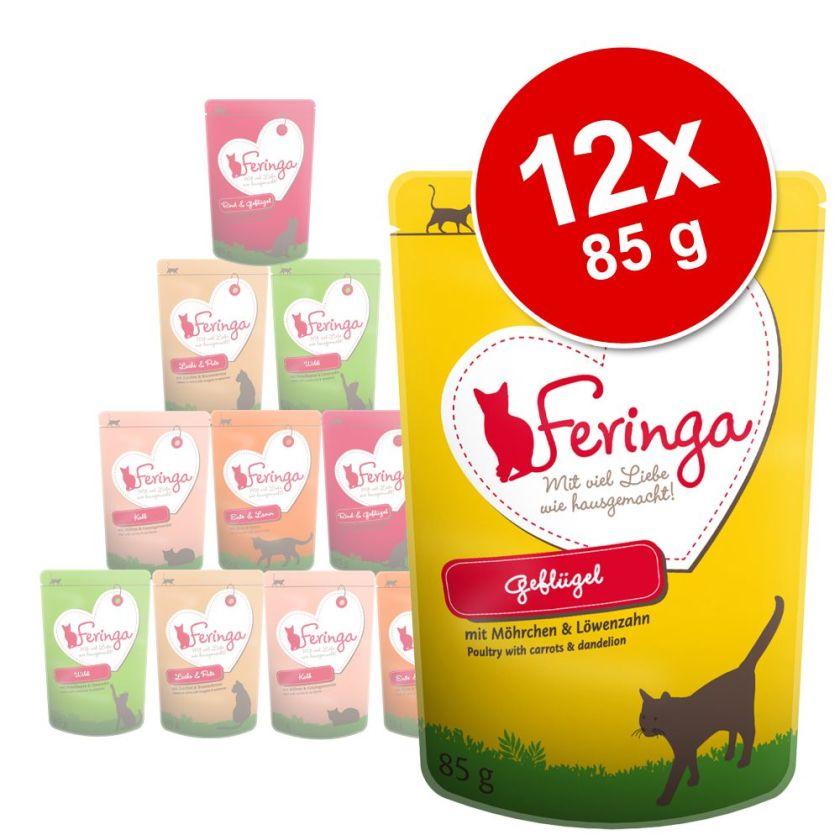 Feringa 12 x 85 g pour chat - boeuf & volaille, pomme de terre