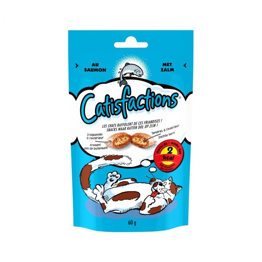 Catisfactions pour chat - 60 g, poulet