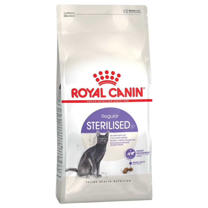 4x85 g Royal Canin Sterilised37 pour chat