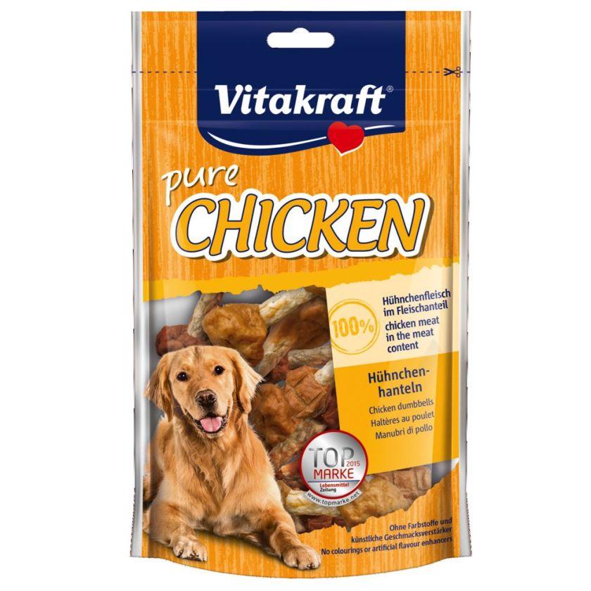 80g CHICKEN Haltères au poulet Vitakraft - Friandises pour Chien