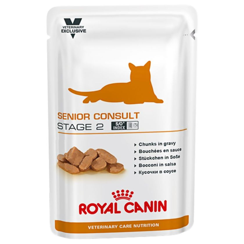 12x100g Senior Consult Stage 2 Vet Care Nutrition Royal Canin Veterinary Diet - Nourriture pour Chat